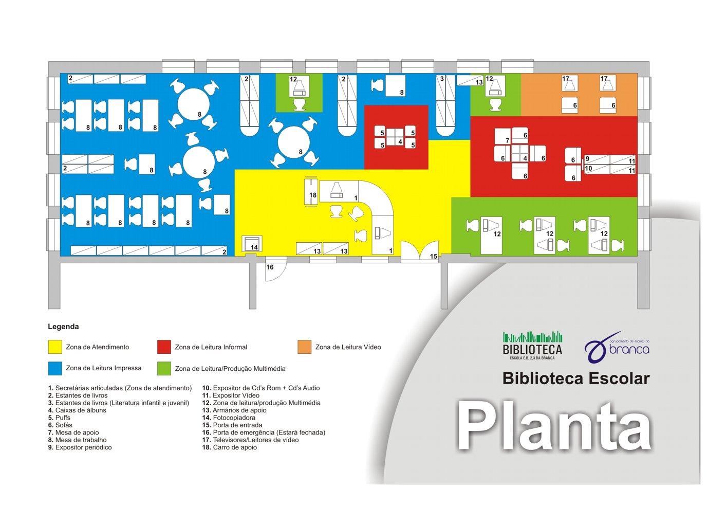 Rbe Bibliotecas Mapa Escola Básica De Branca Albergaria A Velha